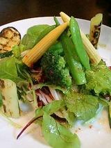 イベリコ屋姫路 11種類の季節野菜サラダ780円