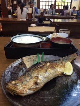 豊川 焼魚定食 780円 (1)