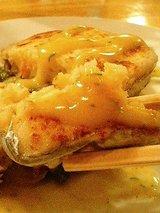 さかもと 太刀魚カニ百合根のテリーヌ2