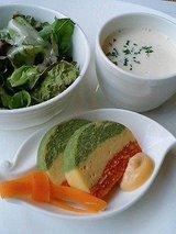 大阪全日空ホテル カフェ・イン・ザ・パーク サラダ、スープ、前菜