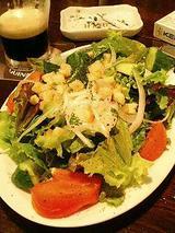 グリーンサラダ(500円)