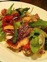 カルボナイオ 本日の新鮮な魚料理 真鯛と甘鯛