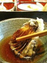 ダイニングむぅ 茄子の天ぷら