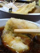 どい寿し 穴子の天ぷら