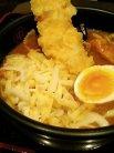チーズカレーうどん(イカ天のせ) by 池っち