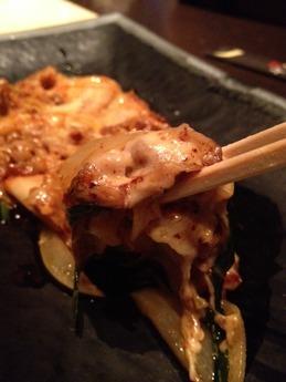 七夜月 豚キムチーズ720円