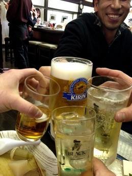 黒百合 乾杯