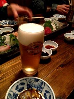 居酒屋 遊膳 ビール