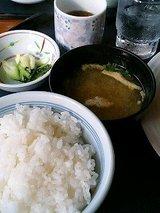 葡萄屋 ハンバーグ&唐揚げ定食(860円)