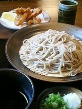 かなじ屋 ざる蕎麦 750円