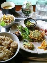 じじかふぇ 本日の菜菜ごはん 1200円