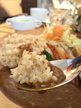 さくらす 焼き野菜のカレー 1050円 (1)