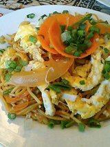 卵チャウメン(750円)