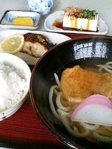 さぬき庵 日替り定食 700円