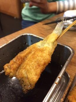 串カツでんがな 魚盛合せ (2)