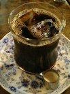 皿つきアイスコーヒー