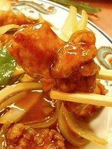 来来飯店 酢豚(735円)