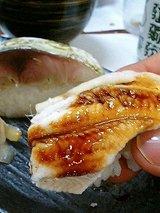どい寿し 鯖寿司と蒸し穴子