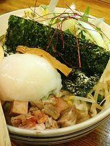 ラーメン こぶ志 塩釜チャーシューユッケ丼(350円)