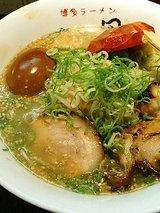 半熟煮玉子ラーメン(750円)