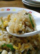 台湾料理ぎょうざ苑 什錦炒飯(500円)2