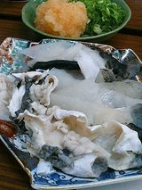 土井寿司 皮湯引き