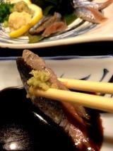 博多一番どり八代くたみや 秋刀魚刺身