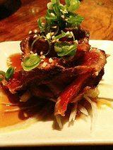 牛肉のたたき(250円)