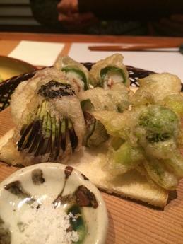温 旬野菜天ぷら (1)