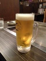 ハチ 生ビール