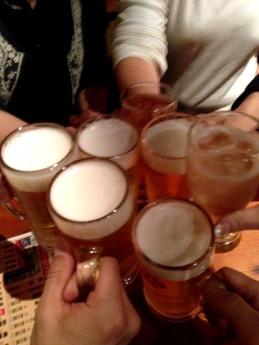 土火楽 生ビール
