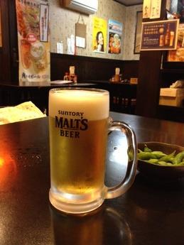 九壱円 生ビール