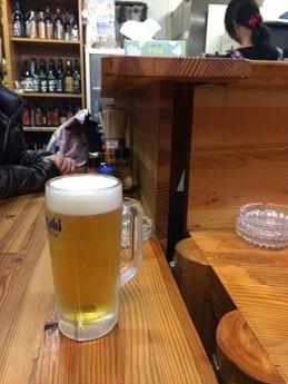 餃子屋 ビール