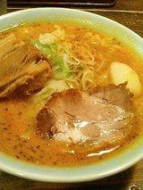 寶龍 バカ豚スープカレーラーメン(990円)