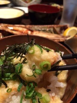 わっしょい とろろ飯定食 700円 (1)
