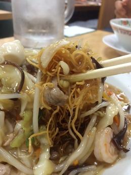 熊本王将 皿うどん (2)