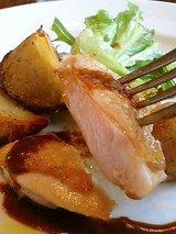 ピエーノ ディ ソーレ 熟鶏のグリル(ココアのソース)