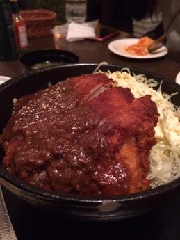 葡萄屋 カツ丼 (1)