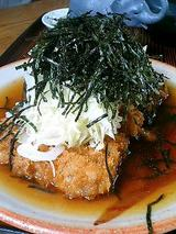 鹿児島豚お肉厚切りお茶かつ膳(150g)1050円