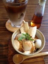 チャルマ ほうじ茶と白玉の和風プリン 500円