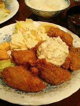 レストラン艸葉(くさば) カキフライ(1310円)