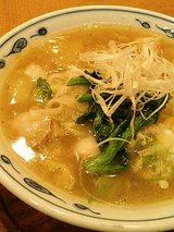海鮮あんかけ刀削麺(980円)