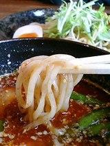 五山 坦々つけ麺(850円)