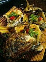 かば 岩牡蛎焼き 1個780円