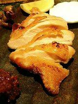 地鶏塩焼き