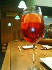 グレナデシロップのジュース