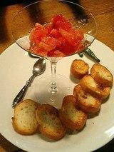 トマトのブルスケッタ