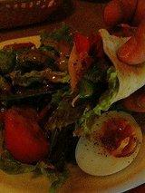 畑のサラダ