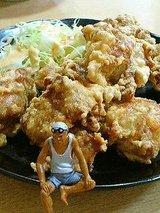 かおるちゃんらーめん 若鶏の唐揚(630円)