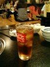 新世界もつ鍋屋京都店 ウーロン茶